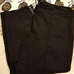 Black dress capris